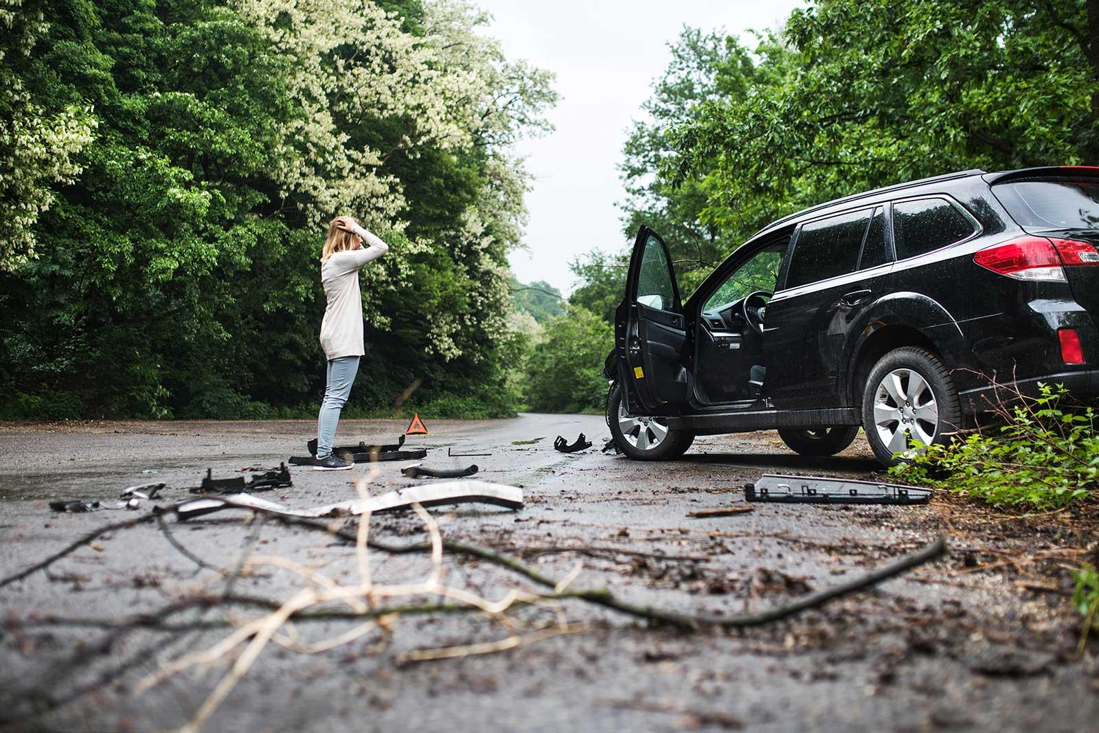 O que fazer quando você sofre um acidente de carro?